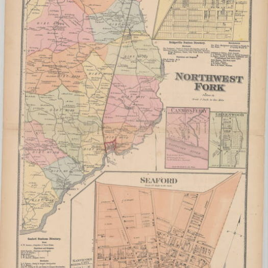 Map of Northwest Fork Hundred